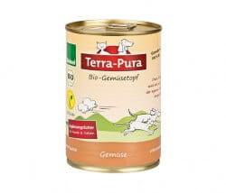 Veganer Bio-Gemüsetopf von Terra Pura für Hunde und Katzen 380g