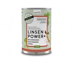 Naftie Linsen Power Bio-Hundefutter mit Buchweizen, Pastinake & Äpfel