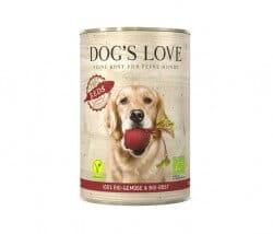 Dog's Love BIO REDS Gemüse & Obst Bio Dosenfutter für Hunde aus Österreich kaufen