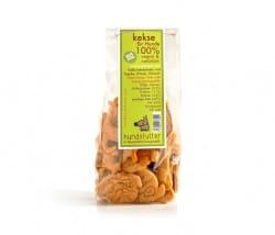 Hundsfutter knusprige Kekse mit Paprika in Hundeform handgemacht vegan