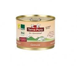Terra Pura Bio-Gemüsetopf veganes Ergänzungsfutter Hund & Katze 180g