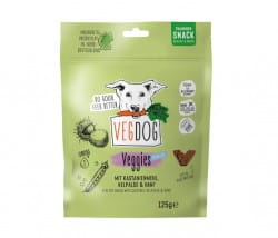 VegDog VEGGIES skincare Trainings-Snack mit Kelpalge und Hanf