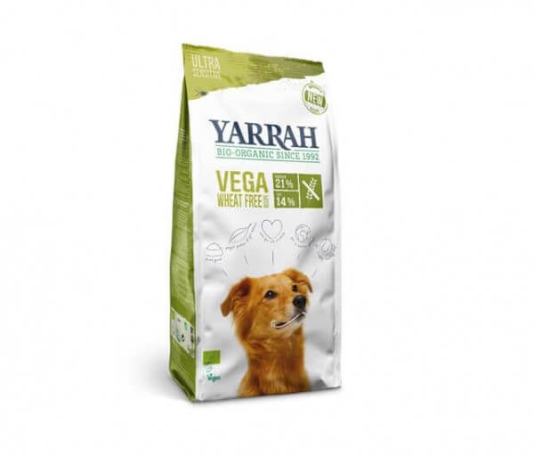 Yarrah Vega Hundetrockenfutter weizenfrei 100% Bio kaufen