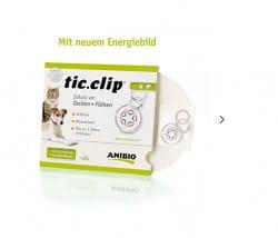 Anibio tic-clip für Hunde und Katzen
