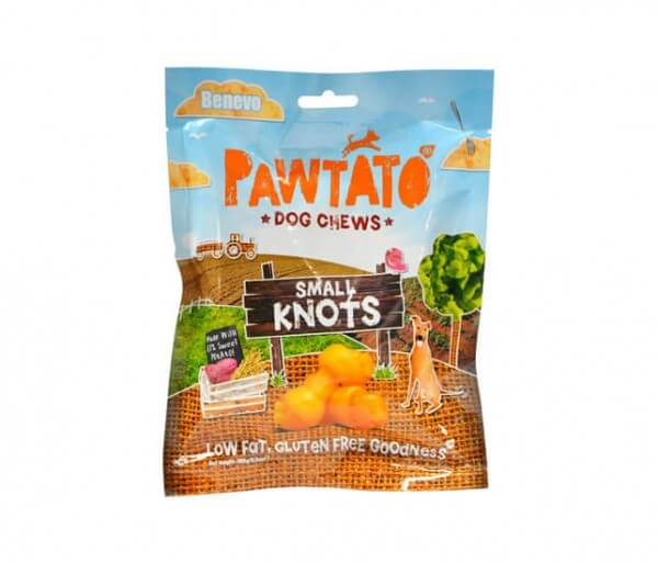 Benevo Pawtato Small & Large Knots veganer Kauknochen kaufen